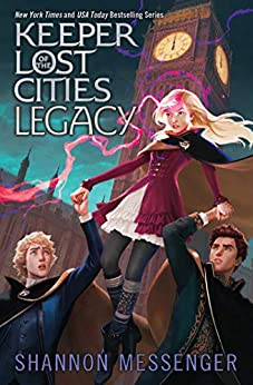 Legacy (Keeper of the Lost Cities Book 8) by [Shannon Messenger]