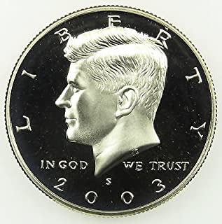 2003 kennedy half dollar uncirculated