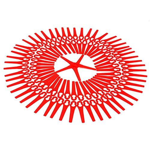 100PKS Elektrische Trimmerblätter für Bosch ART 26Li, ART 26 Accutrim, ART 26 EasyTrim Accu F016800183 F016F03322 BQ026