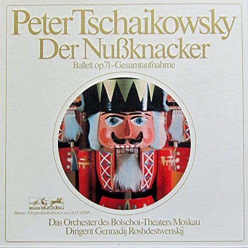 Tschaikowsky: DER NUSSKNACKER, Ballett op.71 - Gesamtaufnahme [Vinyl Schallplatte] [2 LP Box-Set]