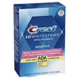 Crest 3D White Whitestrips Gentle Routine Teeth Whitening Kit, 14 Treatments, New Version