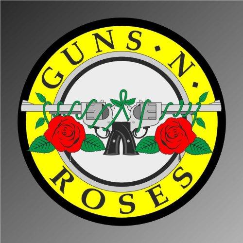 Pegatinas – Adhesivo Guns n Roses hip hop rap jazz hard rock metal pop funk adhesivo