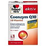 Doppelherz Coenzym Q10 + B-Vitamine – Nahrungsergänzungsmittel mit Q10 – Mit Vitamin B1, B2,...
