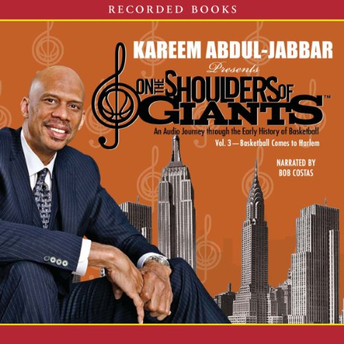Basketball Comes to Harlem audiobook cover art
