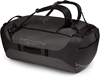 Osprey Packs Transporter 130 Expedition Duffel, Black, One Size