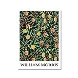Impresiones de William Morris, cartel de la exposición del...