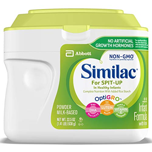 Image of Similac For Spit-Up NON-GMO Infant Formula with Iron, Powder, 1.41 lb
