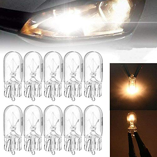 10 STK. W5W Standlicht LAMPEN 12V 5Watt Fassung 2.1x9.5d Glassockellampen. Top Qualität 10x W5W mit E Prüfzeichen