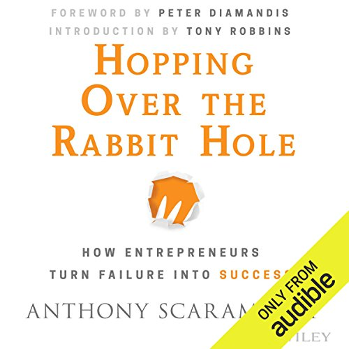 Hopping Over the Rabbit Hole audiobook cover art