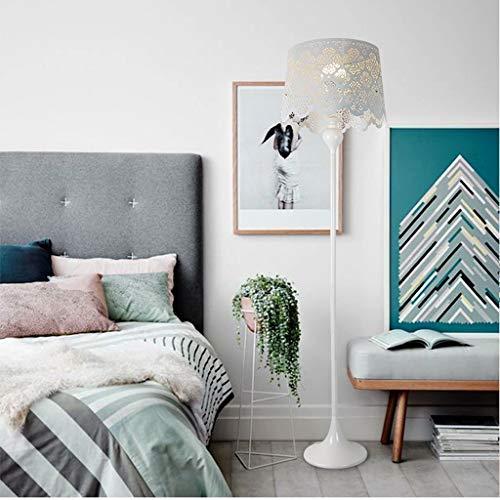 CLJ-LJ LED creativo Jane Europa moderna Rural lámpara de suelo, salón, dormitorio, pantalla americana, cuidado del suelo, luz vertical