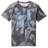 [アンダーアーマー] トレーニング/Tシャツ テックTシャツ<Print Crossfade> 1306088 ボーイズ OVC/CNB 日本 YMD-(日本サイズ140 相当)