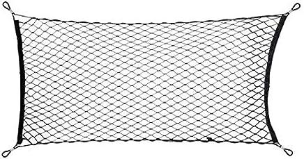 40cm Elastic Rubber Luggage Cargo Mesh Net Car Accessories Motorcycle Bike Helmet Holder Mesh Net Bag Auto Car Styling Tool 40