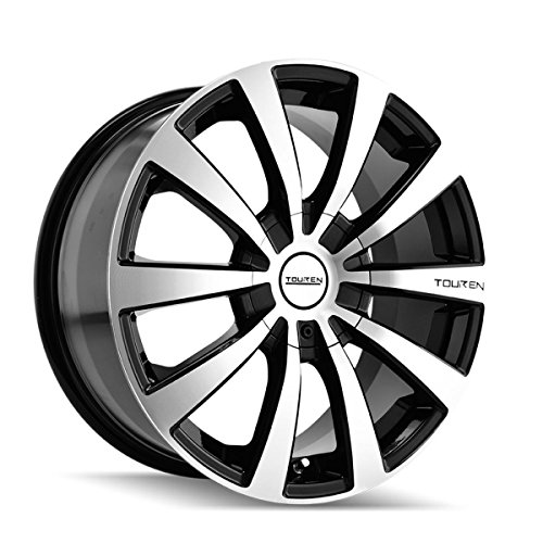 Touren TR3 17 Black Wheel/Rim 4x100 & 4x4.5 with a 40mm Offset and a 67.1 Hub Bore. Partnumber 3130-7701M