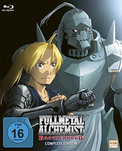 Fullmetal Alchemist: Brotherhood - Die komplette Serie (Alle Folgen + OVA) [Blu-ray]
