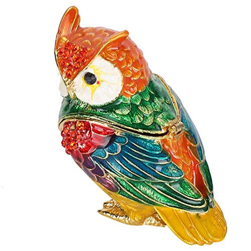 Jeanoko Owl Ornament Practical Necklace Trinkets