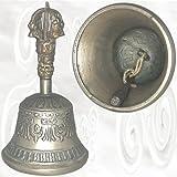 Glocke Tibet / Tibetische Glocke / Klingel - max. Höhe ca. 22,5 cm, Durchmesser unten ca. 12 cm...