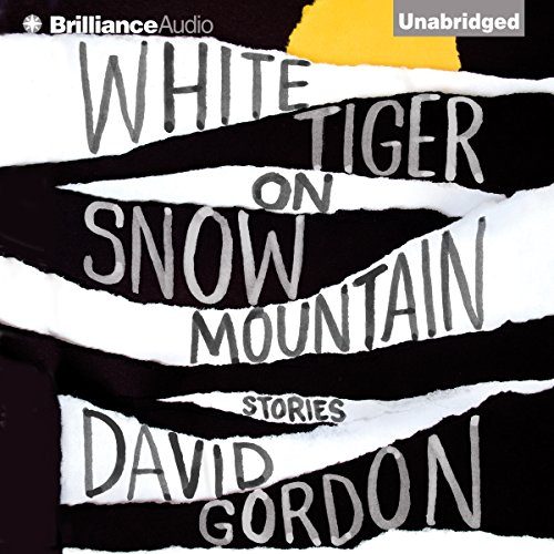 White Tiger on Snow Mountain audiobook cover art
