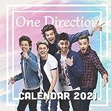 One Direction: 2021 Wall Calendar - Mini size 8.5''x 8.5''(W x H)