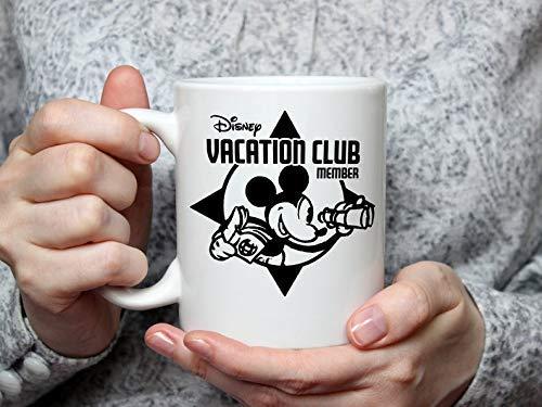 Taza inspirada en Disney Vacation Club