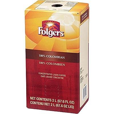 Folgers Liquid Coffee - 100% Colombian 1 box/2 L - Replaces Douwe Egberts
