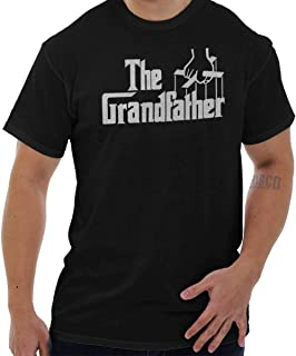 Grandfather Classic Italian Mafia Movie T Shirt Tee