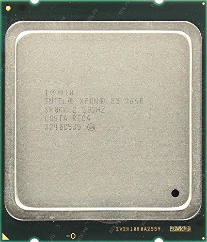 Intel Xeon E5-2660 - Procesador (Familia del procesador Intel Xeon E5, 2,2 GHz, LGA 2011 (Socket R), Servidor/estación de Trabajo, 32 NM, E5-2660)