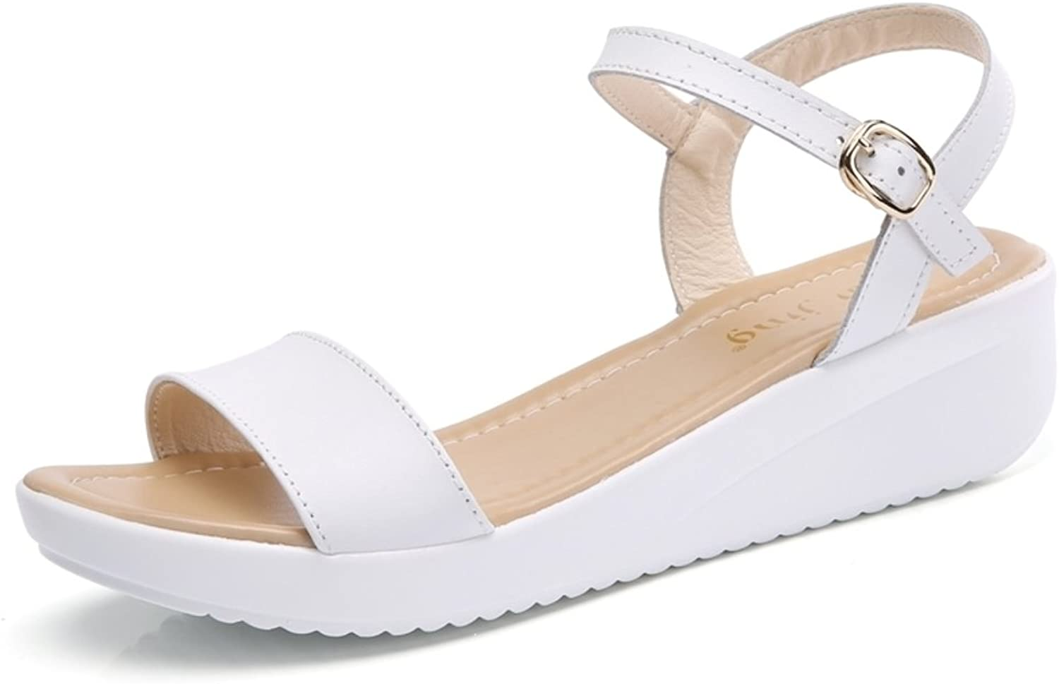 MET RXL Lady,Summer,Casual Sandals Wedges,Buckle Sandals