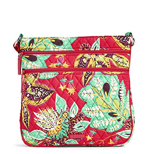 Vera Bradley Signature Cotton Triple Zip Hipster, Rumba