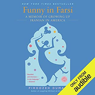 Funny in Farsi audiobook cover art