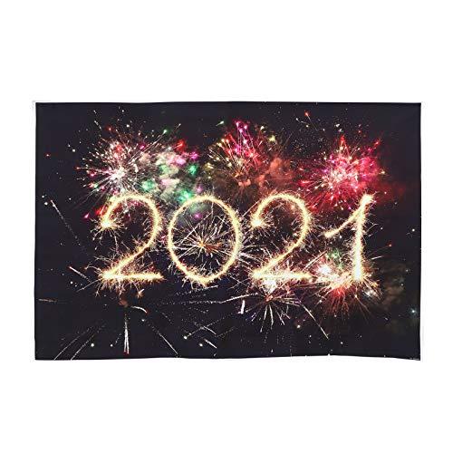 TOYANDONA 2021 Capodanno Sfondo Fuochi D'artificio Fotografia Sfondo Capodanno Decorazioni Capodanno Festival Celebrazione Foto Stand Puntelli
