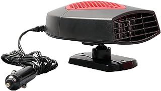 comprar comparacion Calefactor y ventilador portátil de 12 V para coche, calienta rápidamente, descongelador, ventilador de refr...