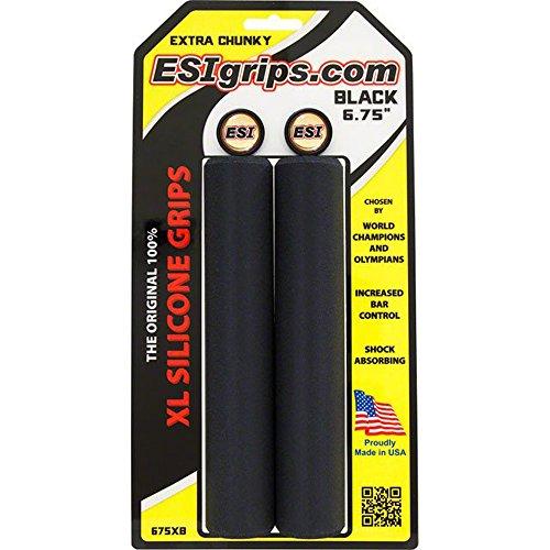 "ESI XL 6.75"" Extra Chunky Grips: Black"