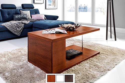 Hochwertiger Design Couchtisch Tisch MN-4 Kirschbaum mit Ablage