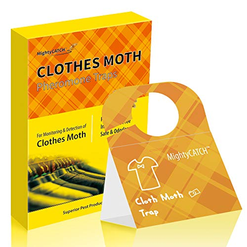 Mighty Catch Hook Clothes Moht Trap Webbing Clothes Moth Trap case-Making Clothes Moth Trap Pesticide Free Natural