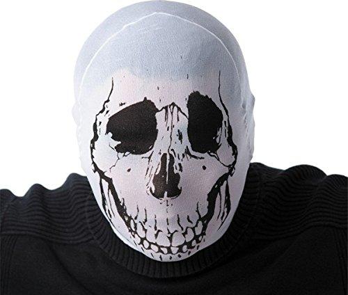 Generique - Cagoule Squelette Adulte Halloween