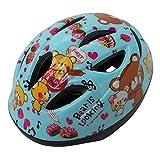 自転車 ヘルメット キッズ SGマーク付 幼児用 47-54cm ベアブルー アジアンフィットタイプ 46824