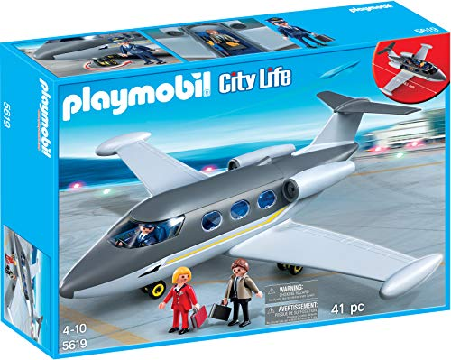 PLAYMOBIL 5619 AVIÓN Jet Privado Exclusivo USA