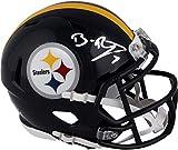Ben Roethlisberger Pittsburgh Steelers Autographed Riddell Speed Mini Helmet - Autographed NFL Mini Helmets