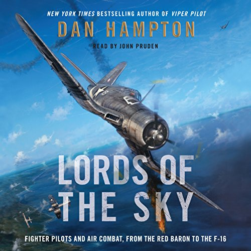Lords of the Sky audiobook cover art