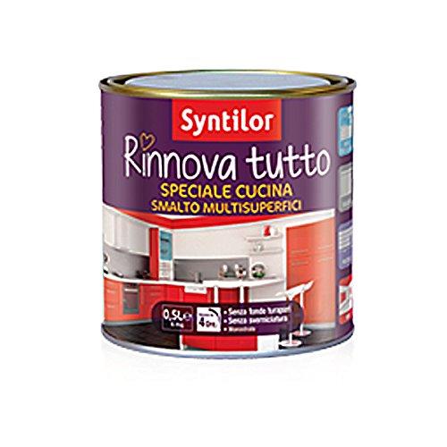 Smalto RINNOVA Tutto - Syntilor - 1 L Speciale Cucina -- Colore: Macaron