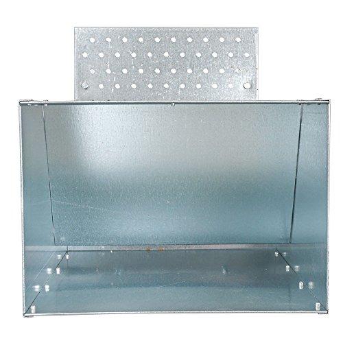 Futterautomat mit Trittklappe 15 kg - 3