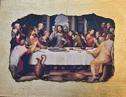 Ars Martos -'Ultima cena' Juan de Juanes. Riproduzione d'Arte in Affesco su Intonaco. Disponibile in varie misure e finiture.