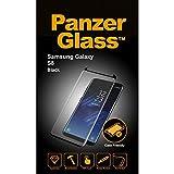 PanzerGlass 2,5D für Samsung Galaxy S8, Hülle Friendly, Schwarz