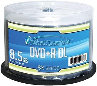 Optical Quantum OQDPRDL08LT-50 DVD en Blanco 8,5 GB DVD+R DL 50 Pieza(s) - DVD+RW vírgenes (8,5 GB, DVD+R DL, 120 mm, 50 Pieza(s), 8X, Eje)