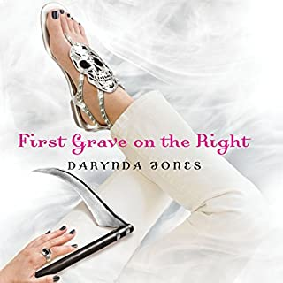 First Grave on the Right     Charley Davidson, Book 1              By:                                                                                                                                 Darynda Jones                               Narrated by:                                                                                                                                 Lorelei King                      Length: 8 hrs and 58 mins     8,794 ratings     Overall 4.2