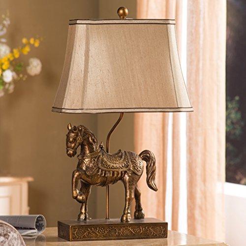 Bonne chose lampe de table Lampes de table de style rétro style européen Lampes de table décoratives créatives Salon Étude Chambre Éclairage Lampes de table