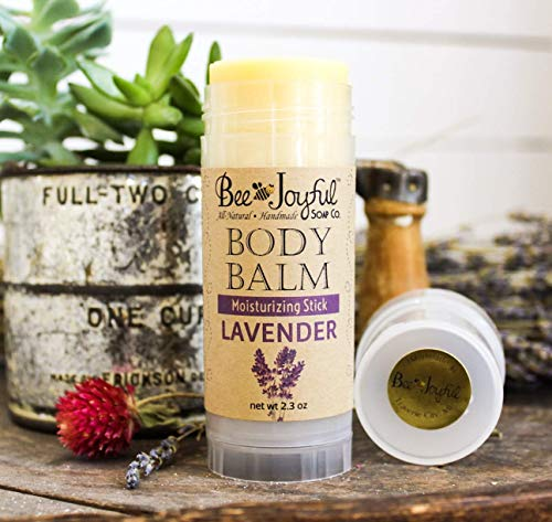 Bee Joyful Body Balm - Lavender - All-Natural Lotion Stick