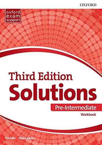 Solutions Pre-Intermediate. Workbook 3rd Edition - 9780194510592: Leading the way to success (Solutions Third Edition)
