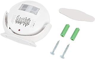 Sensor de movimiento por infrarrojos PIR, alarma de felicitación, detección inteligente de la dirección del timbre con reconocimiento de voz.