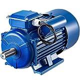 VEVOR Motor Eléctrico Asíncrono Monofásico, 3 kW Motores Eléctricos Monofásicos, 1.430 RPM Motor Monofásico 220 V Motor Eléctrico Monofásico 50 Hz Motores Monofásicos Motor Eléctrico para Ventilador
